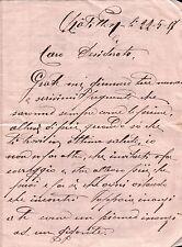LETTERA DEL 1917 SCRITTA DA CHATILLON VAL D'AOSTA  C6-492