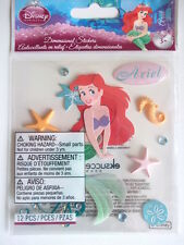 DISNEY DIMENSIONAL STICKERS - ARIEL the little mermaid