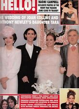 JOAN COLLINS - ANTHONY NEWLEY -  British HELLO! Magazine June 28th 1997 C#31