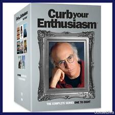 CURB YOUR ENTHUSIASM -COMPLETE HBO SERIES 1 2 3 4 5 6 7 & 8   *BRAND NEW DVD **