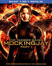 The Hunger Games: Mockingjay, Part 1 (Blu-ray/DVD, 2015, 2-Disc Set, Include Dig