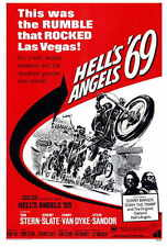 HELL'S ANGELS '69 Movie POSTER 27x40 Tom Stern Jeremy Slate Conny Van Dyke