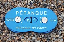 La Boule Bleue Petanque Boules Pocket Scorer *1st class post*