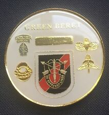 Green Beret SPECIAL FORCES Challenge Coin - A 4