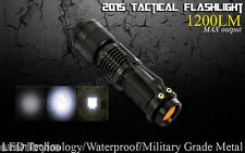 XM-L2 U2 LED Flashlight 18650 Rechargeable Battery Pack Charger 1200LM 3 MODES