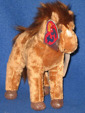TY 2.0 - SADDLE THE HORSE - MINT with CREASED TAGS - UNUSED CODE