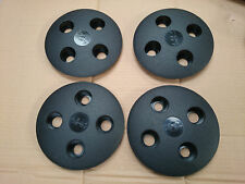Fiat 126 BLACK WHEEL COVERS TRIM