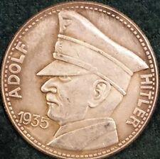 Adolf Hitler German WWII Coin Token Medallion Third Reich 1933