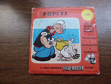 Viewmaster 3schijfjes * * * *  POPEYE * * * *