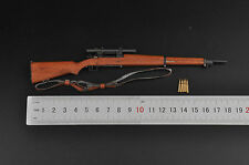 1/6 Springfield Sniper Rifle M1903 A4 Model Gun Weapon For 12'' Figure Toys