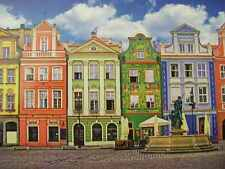 Puzzlebug 500 piece Jigsaw Puzzle Colorful Buildings in Ponzan Poland NEW SEALED