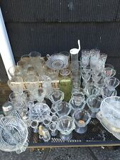 Lot of 69 Mixed Lot Vintage Glassware