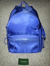 LONGCHAMP-Le Pliage Neo-Navy Blue Backpack-GUARANTEED AUTHENTIC-New