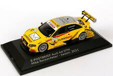 1:43 Audi A4 DTM 2011 Abt e-Post-Brief Nr.9 Mike Rockenfeller - Dealer-Edition