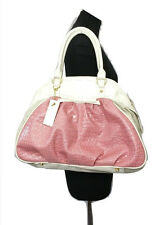 SUZY SMITH Handbag Size L Pink Cream NEW w/TAG RRP £70 Limited Collection