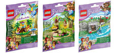 All 3 LEGO Friends Series 5 Sets - Macaw, Orangutan, Bear (41044, 41045, 41046)