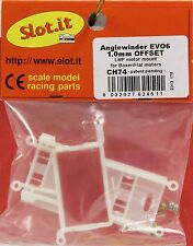SLOT IT SICH74 1.0 OFFSET ANGLEWINDER EVO 6  MOTOR POD NEW 1/32 SLOT CAR PART