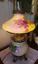 VINTAGE VICTORIAN STYLE GONE WITH THE WIND PARLOR LAMP USA