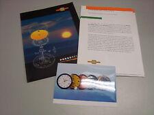 1999 ETA SWISS TECHNOLOGY SOLAR QUARZ KALIBER PRESSKIT PRESSEMAPPE DEUTSCH