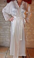 PEIGNOIR VICTORIA'S SECRET SATIN NIGHTDRESS SISSY NIGHTGOWN NIGHTWEAR ADULT !949
