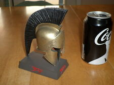 "FRANK MILLER COMIC BOOK MOVIE - ""300"" SPARTA HELMET- RESIN STATUE, WARNER BROS."