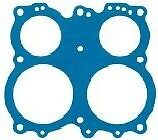 Holley Model 4165 & 4175 Throttle Body Gasket - Blue Non Stick