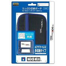Hori Big Pouch Case Blue for NEW Nintendo 3DS LL XL