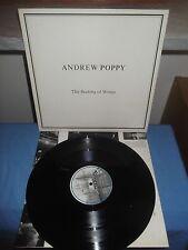 """Andrew Poppy """"The Beating Of Wings"""" LP ZTT IQ 5 UK 1985 - INNER"""