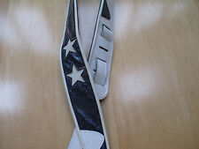 JODI HEAD GUITAR STRAP - PURPLE WITH WHITE STARS