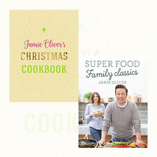Jamie Oliver's Christmas Cookbook and Super Food Family Classics Collection,[HB]