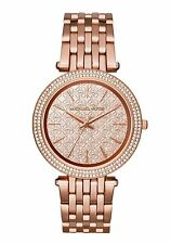 Michael Kors Ladies Oversized Darci Rose Gold Tone Designer Watch MK3399
