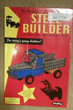 AWESOME GIFT! Schylling NIB Steel Builder Set w/ Motor 168pcs + 16 Models
