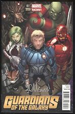 GUARDIANS of the GALAXY # 0.1 1:50 McGUINNESS Signed Cover Variant Marvel NOW