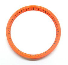 Orange SEIKO 7002 Chapter Ring (minute track- mod parts) Brand New.
