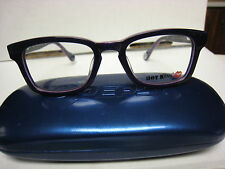 HOT KISS  EYEGLASS FRAMES Style HK44  in   PURPLE 45-17-130  with Pepsi case