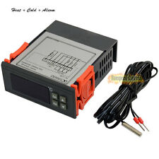 12V -40~99°C LCD Temperature Controller Automatic Refrigerator Thermostat +Cable