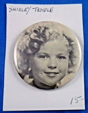 Shirley Temple Actress Hollywood Movie Star Pin Pinback Button 2 1/8""