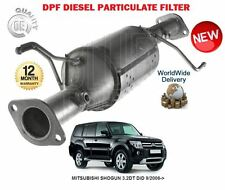 FOR MITSUBISHI SHOGUN 3.2DT DiD  9/2006-  DPF DIESEL PARTICULATE FILTER 1583A006