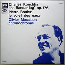 LP KOECHLIN Bandar-log, BOULEZ, Messiaen / Dorati, Boulez / VSM CVA 878 NM