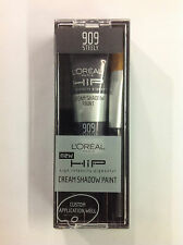 L'Oreal HiP Cream Paint Eye Shadow STEELY #909 NEW.
