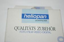 NEW GENUINE ORIGINAL HELIOPAN 52mm 81B Color Correction Filter 705231