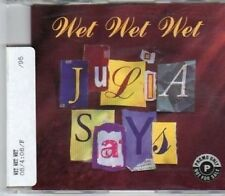 (BW100) Wet Wet Wet, Julia Says - 1995 DJ CD