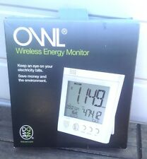 New Owl Wireless Energy Monitor Electricity Smart Electric Energy Bills Meter