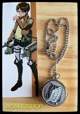 Shingeki No Kyojin Attack On Titan Manga Anime  Montre Pendentif  進撃の巨人