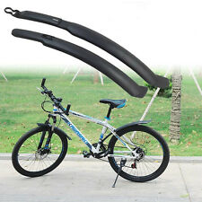 1Set Cycling Mountain Bike Bicycle Front +Rear Mud Guards Mudguard Fenders New