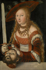 Judith with the Head of Holofernes Lucas Cranach der Ältere Köpfen B A3 02812