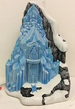 Disney Frozen Village Elsa's Ice Palace Light Up Castle Sculpture Department 56
