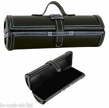 DALER ROWNEY MULTIPURPOSE ARTIST PENCIL OR PAINT BRUSH LEATHER CASE HARD BARREL