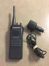 KENWOOD TH-22AT HT TRANSCEIVER WITH EXTRA CAR CHARGER US Seller!