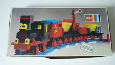 Set Lego Vintage 180 4.5V Train with 5 Wagons